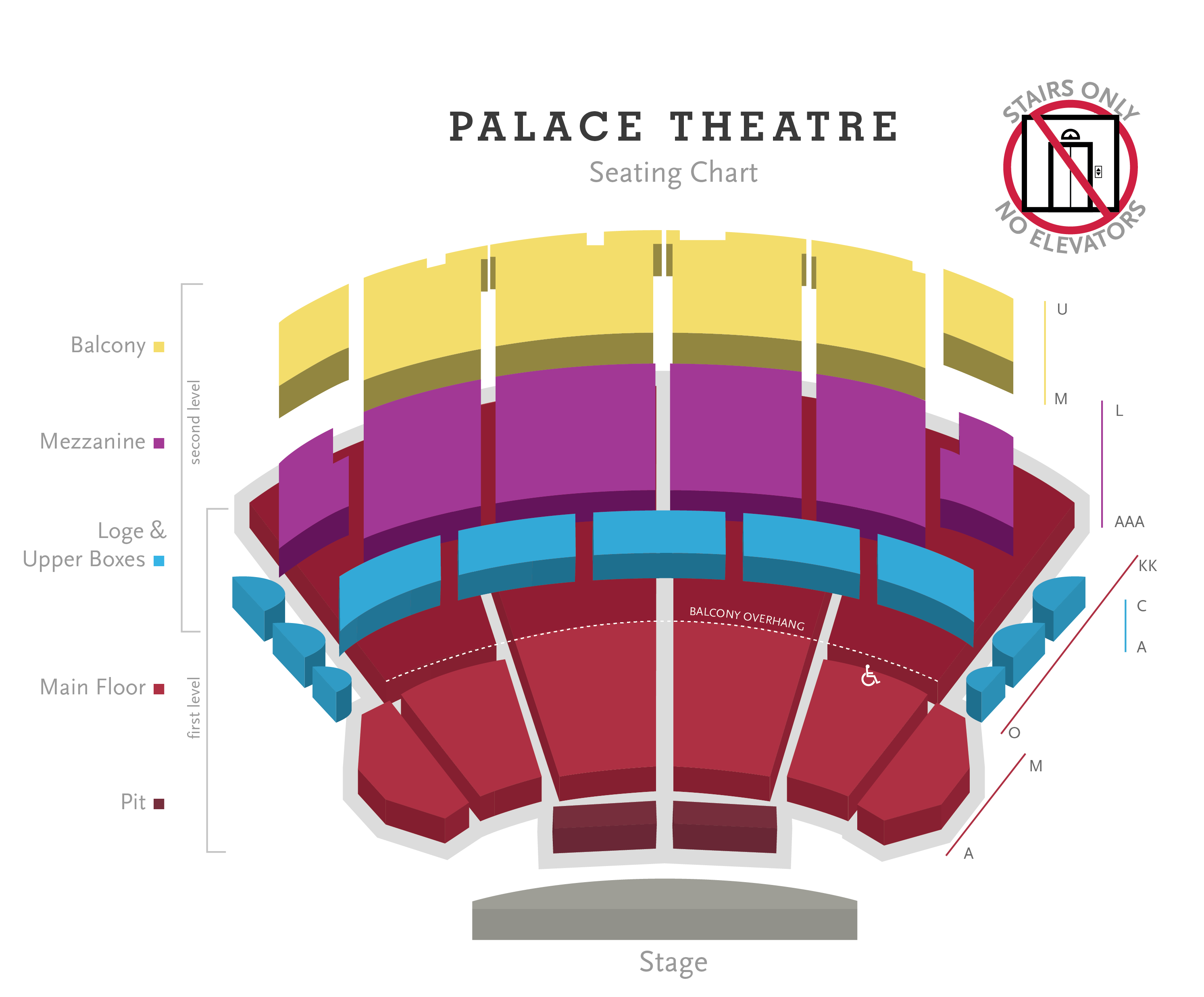 Palace Theatre Seating