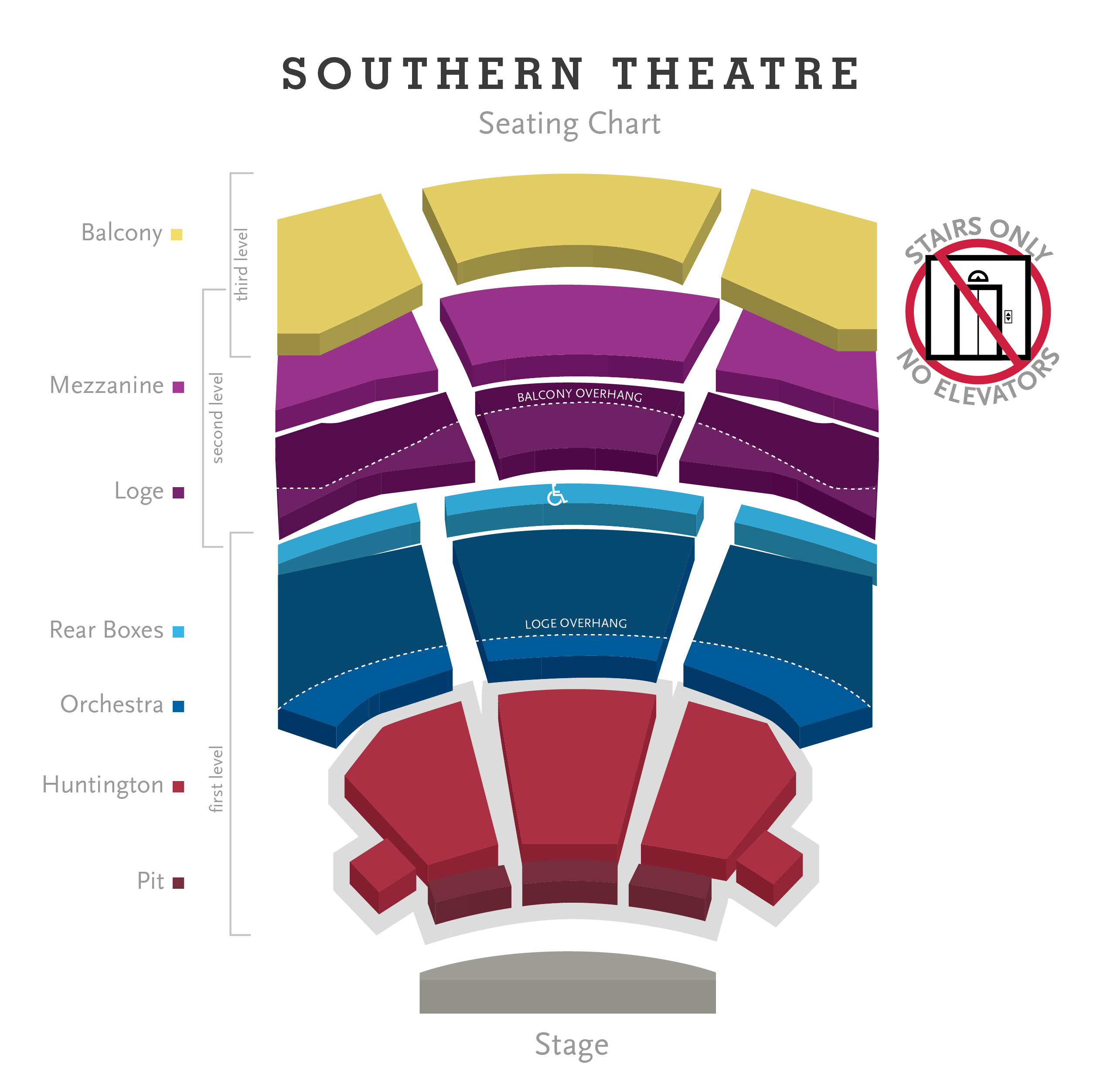Southern Theatre Seating