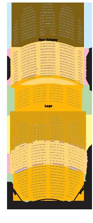 Ohio Theatre Seating Chart